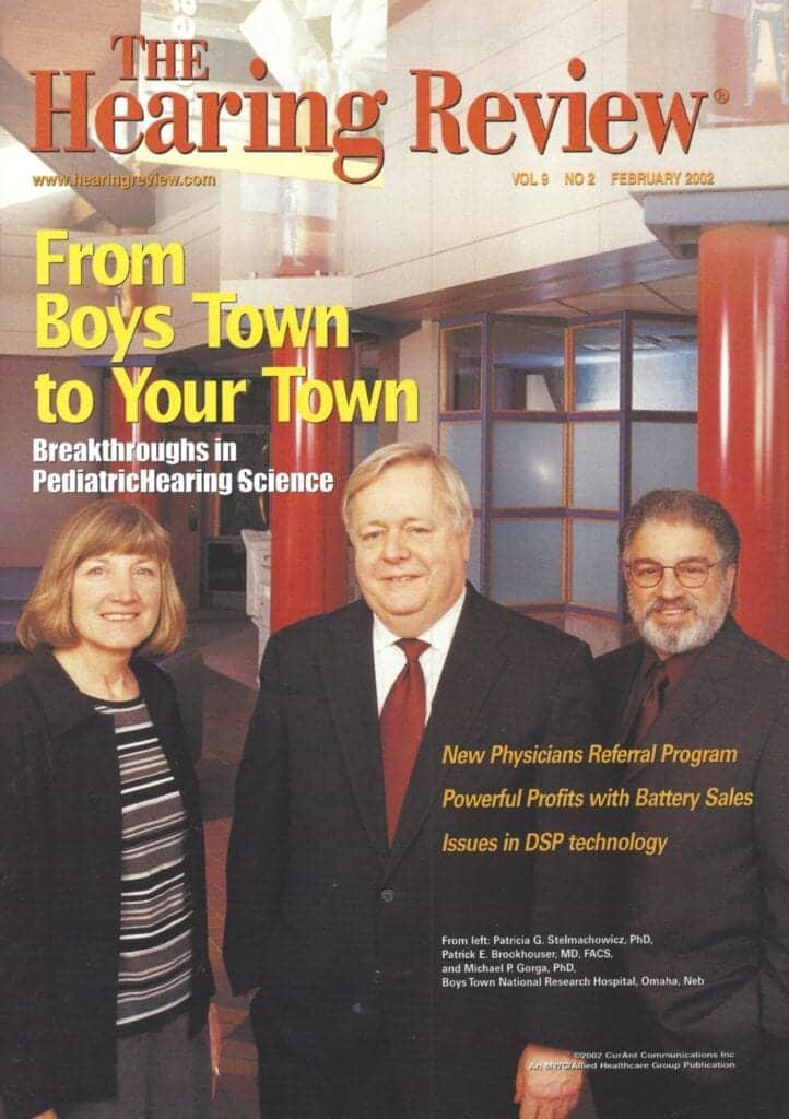 Pat Stelmachowicz, Patrick Brookhouser, and Michael Gorga of Boys Town