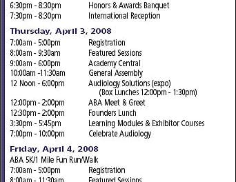 AudiologyNOW! to Celebrate 20 Years of Achievement for AAA