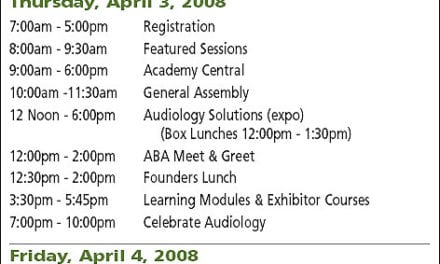 Walking Guide to the 2008 AAA Convention