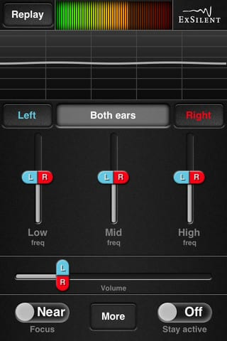 ExSilent Releases Free Personal Sound Amplifier App for iPhone