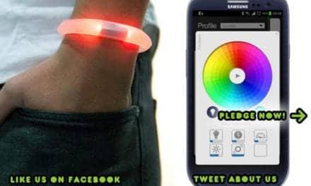 Embrace+ Smart Bracelet Alerts Deaf When Cell Phone Rings