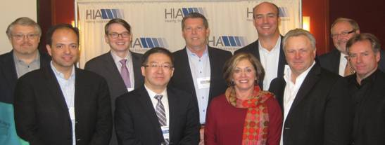 HIA Elects New Officers; Announces Re-sponsorship of Hearing Aid Tax Credit Bill