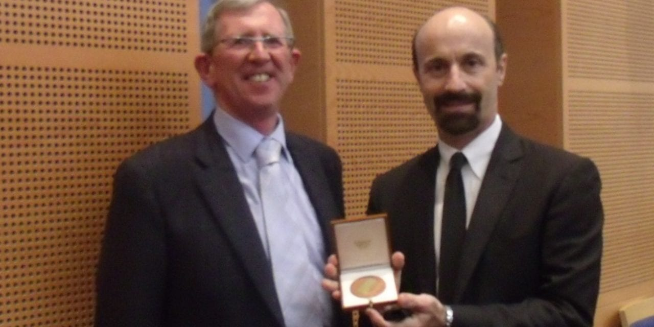 Douglas Beck, AuD, Receives RS McCrea Medal