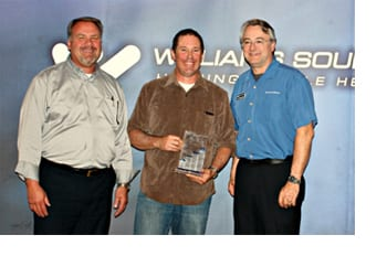 Williams Sound Honors Its Top Sales Representative for 2012