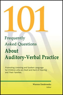 AG Bell Publishes New Book on Auditory-Verbal Practice for Practitioners and Parents of Children with Hearing Loss