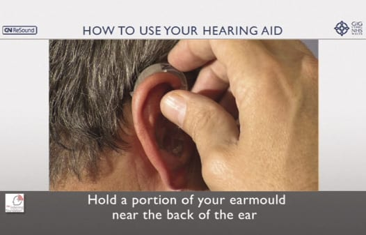 Does Providing an Instructional DVD to New Hearing Aid Users Reduce Reported Hearing Aid Problems?