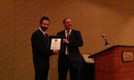 Ron Leavitt Honored with Larry Mauldin Award by Beltone