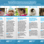 Improving Hearing and Hearing Aid Retention for Infants and Young Children: A practical survey and study of hearing aid retention products