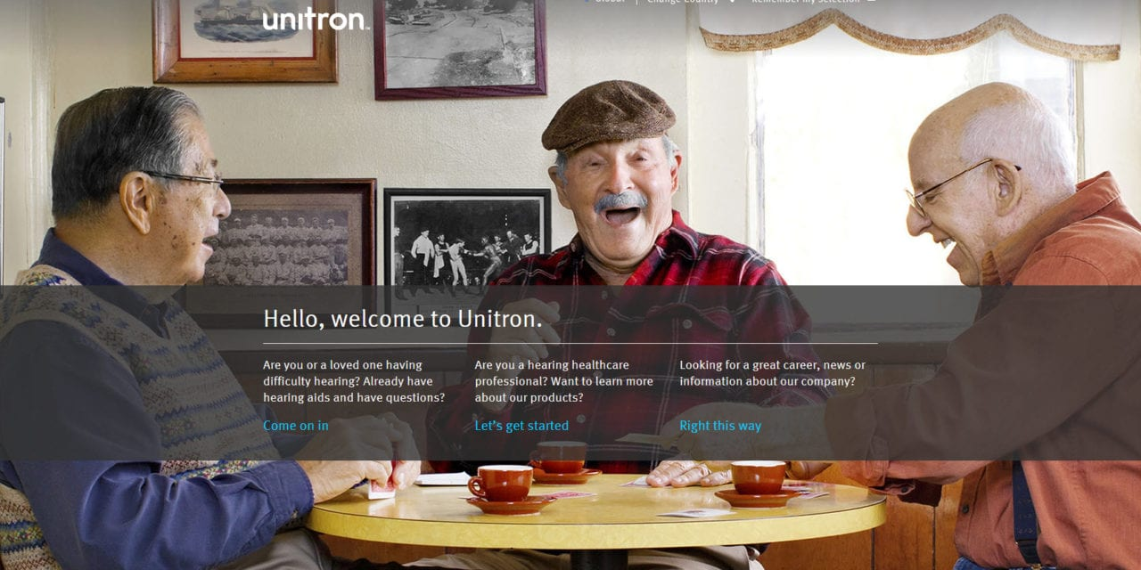Unitron Launches New Websites for Healthcare Professionals and their Patients
