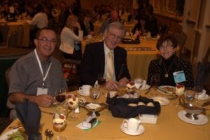 Ed Aleo, PhD, and Roy Sullivan, PhD, and his wife and co-practice owner Carol.