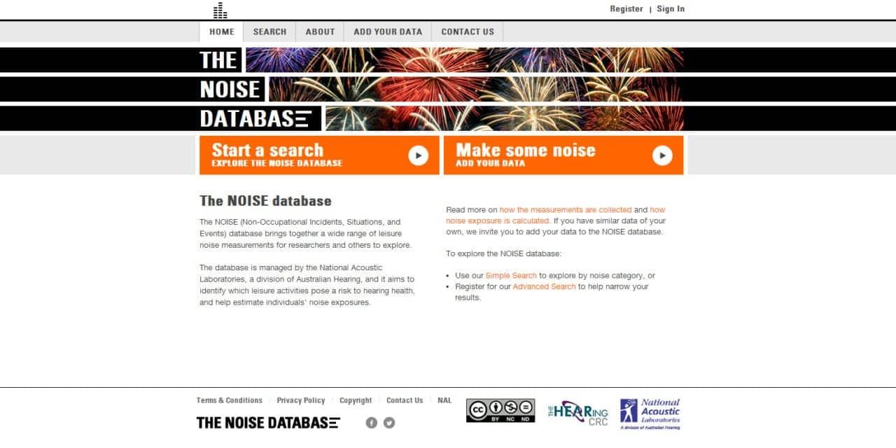 Online Database Highlights Risks to Hearing from Australia's Noisy Nightlife