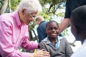 Starkey Hearing Foundation-Pres Bill Clinton-Zambia 2013-1