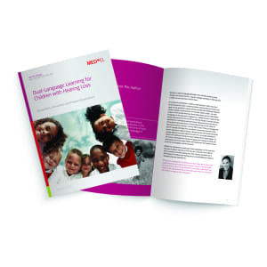 New Publication: Dual-Language Learning for Children with Hearing Loss