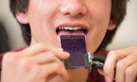 The Smithsonian: Oral Retainer Delivers Sound Signals to Your Tongue