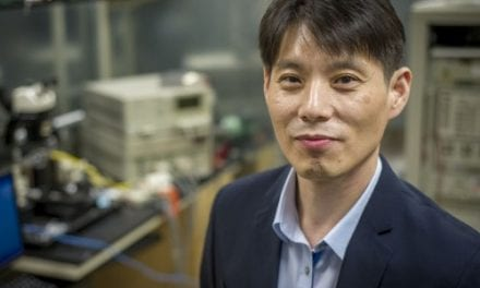 Engineer Developing New IC and Microphone for Better Hearing Aids
