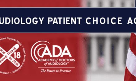 Representatives Reintroduce Audiology Patient Choice Act