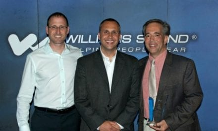Williams Sound Recognizes Top US Rep with Award