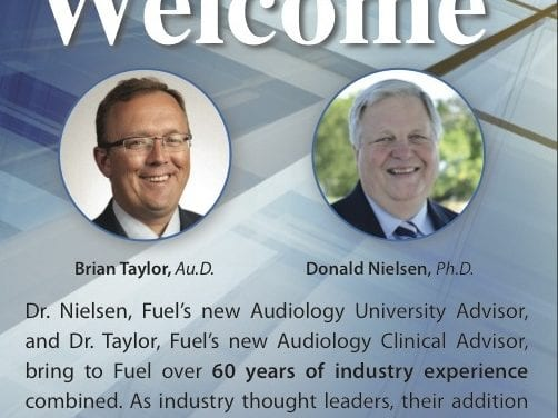 Fuel Medical Welcomes Hearing Healthcare Veterans