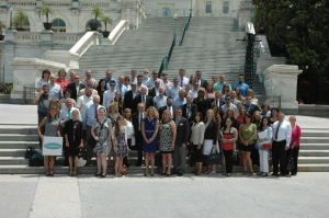 Day on the Hill event participants