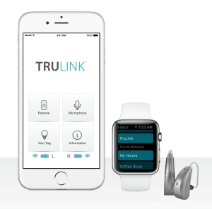 TruLink 2.1 app works with smart watches