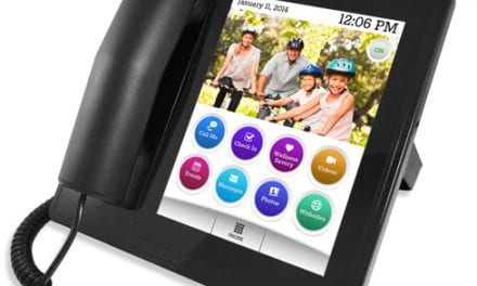 Platform for Home Phone Helps Family Members Check on Seniors