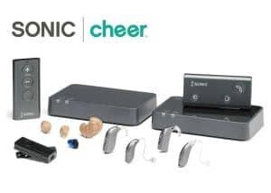 Sonic's Cheer hearing aids