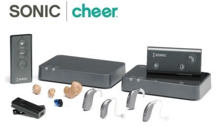 Sonic Debuts Cheer Hearing Aids with New Technology, Connectivity