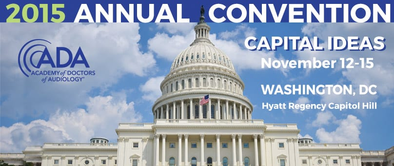 ADA 2015 Convention Brings Audiology to the Capitol