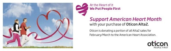 Oticon Campaign Raises Awareness of Heart and Hearing Health