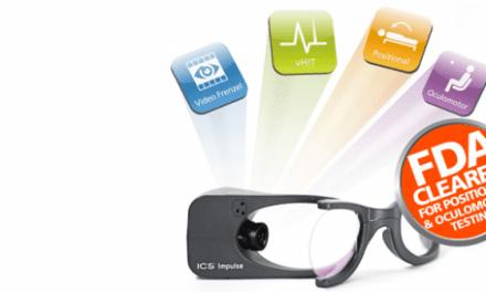 ICS Impulse FDA-cleared for Positional, Oculomotor Testing