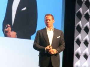 Starkey Senior VP of Sales and Marketing Brandon Sawalich served as the host of the 2016 Starkey Innovations Expo.