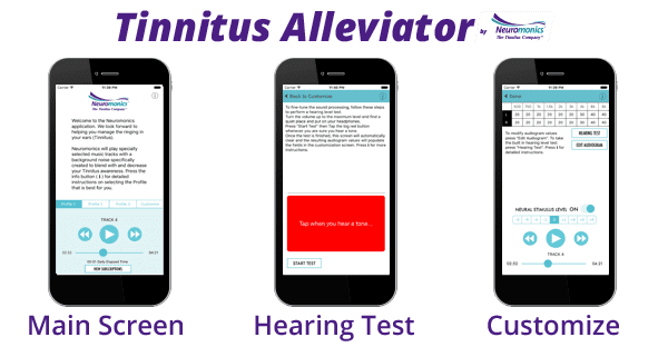 Neuromonics Adds Personal Music Library Feature to Tinnitus Alleviator App