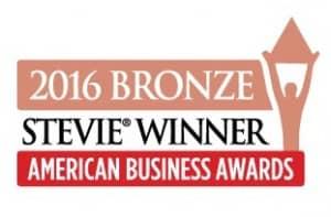 Stevie Award 2016 Bronze