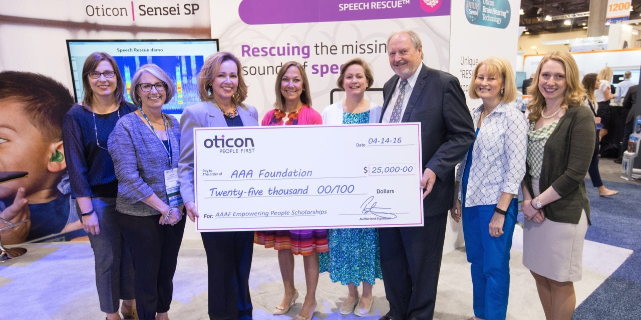 Oticon Funds American Academy of Audiology Scholarships