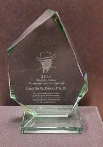 """Howard E. """"Rocky"""" Stone Humanitarian Award"""