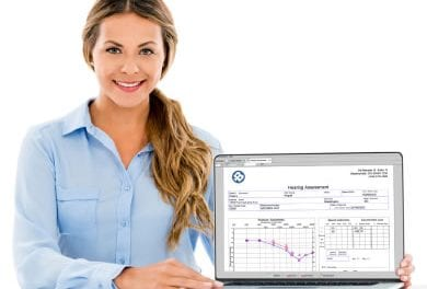 Medical Report Writer for Audiology Provides Paper-free Solution