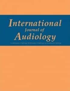 International Journal of Audiology