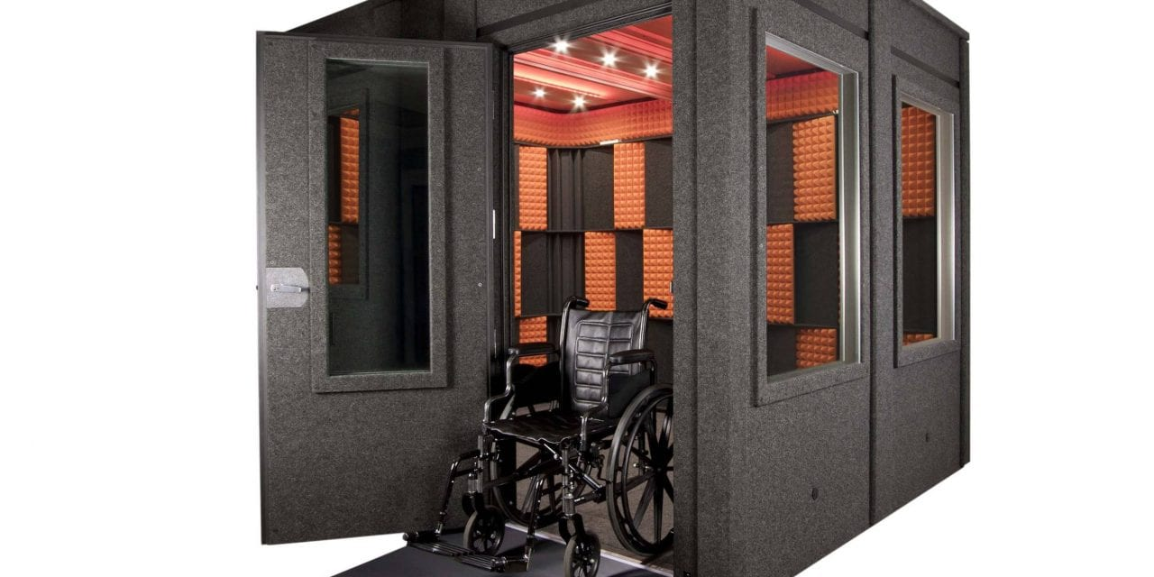 WhisperRoom Rolls out ADA-compliant Sound Booths