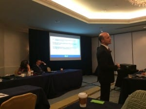 """Douglas Beck, Barbara Weinstein, and Brian Taylor presented a 2-part session titled, """"Innovation & Disruption Service Delivery Models""""."""