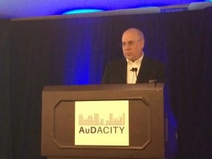 David Zapala, PhD, of the Mayo Clinic Jacksonville, presented an overview of the recommendations made by the Committee on Accessible and Affordable Hearing Health Care for Adults on which he served as a member.