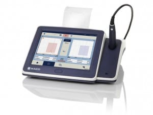 Maico touchTymp for middle ear tympanometry