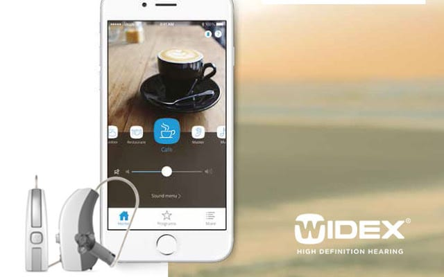 Widex BEYOND app for iPhone