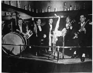 Bandstand, Arlington Annex. Courtesy of the Hogan Jazz Archive at Tulane University.