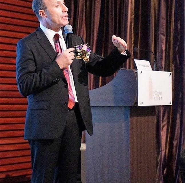 Doug Beck, AuD, Presents at Audiology Seminar in Hong Kong