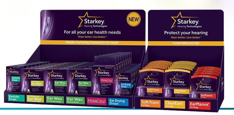 Starkey Hearing Technologies Launches Ear Health Product Line