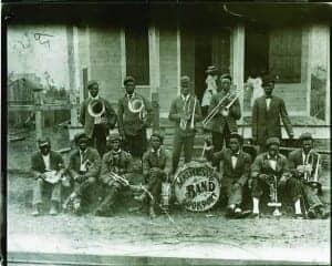 Mathews & Lockport Band. Courtesy of the Hogan Jazz Archive at Tulane University.