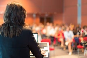 http://www.dreamstime.com/stock-photo-business-woman-lecturing-conference-audience-lecture-hall-image42291480