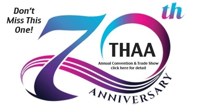 Texas Hearing Aid Association (THAA) to Celebrate 70th Annual Convention in June