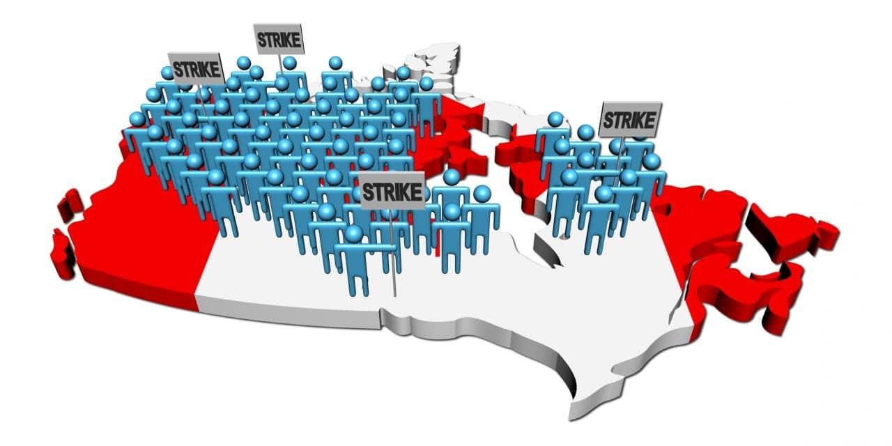 Unionized Employees of Canadian Hearing Society Strike