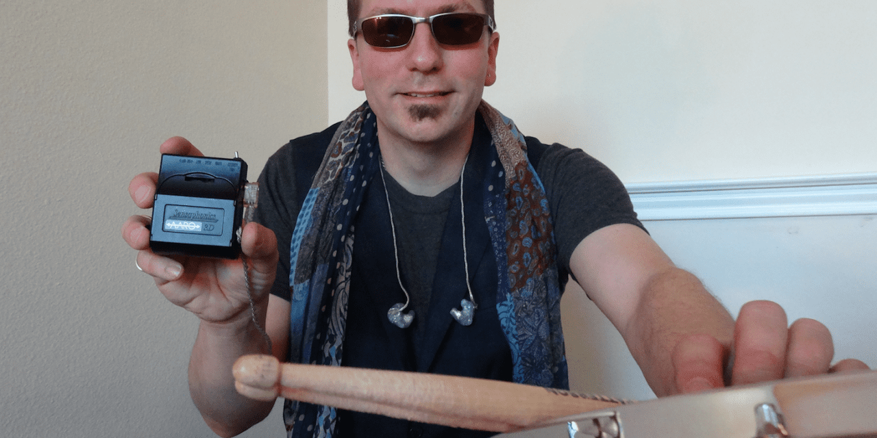 Drummer Danny Patterson Utilizes Sensaphonics 3D AARO In-Ear Monitoring System